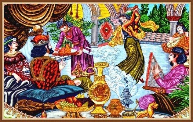 Кызыл-Арслан о любви Хосрова и Ширин