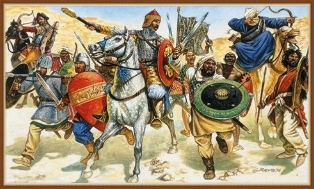 арабы захватили