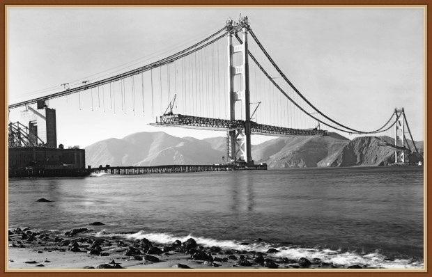 Мост Золотые Ворота история