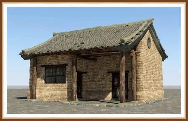 древние дома в древнем египте