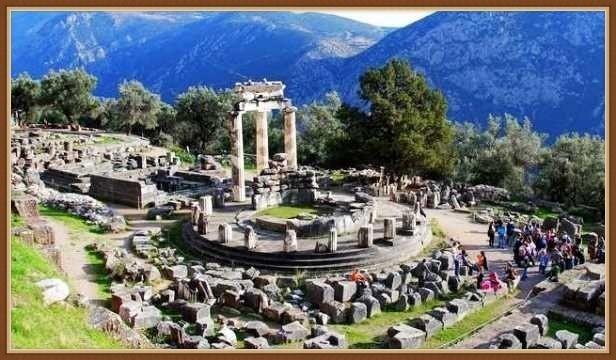 древний город Дельфы