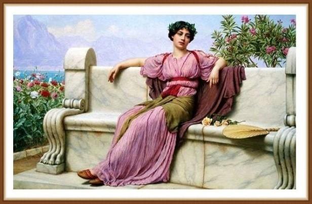 древняя греция одежда женская