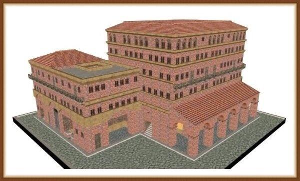 инсулы древние дома