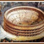 Амфитеатр Колизей памятник Древнего Рима