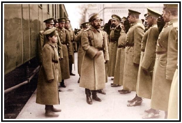 Царь Николай в Первой мировой войне