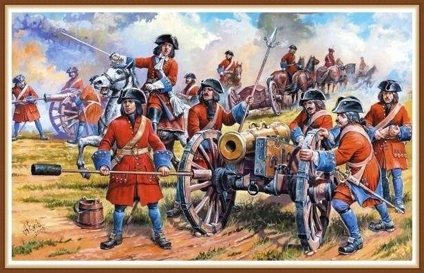 военные задачи Петра I